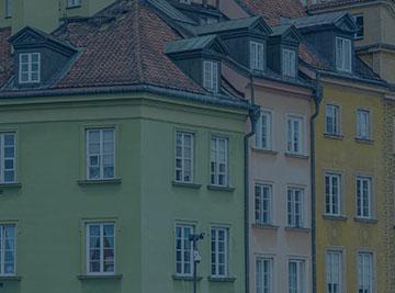 kamienica kolorwa